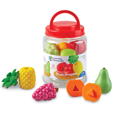 Snap-N-Learn Fruit Shapers  - by Learning Resources - LER6715