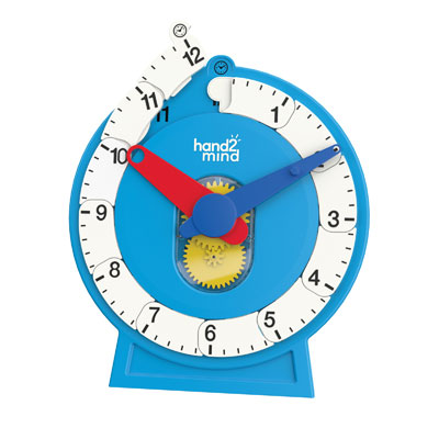 Demonstration Advanced NumberLine Clock - Approx 33cm - Magnetic - H2M93411