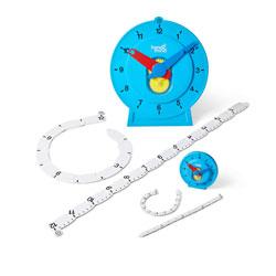 Advanced NumberLine Clock Class Bundle - includes 1x Teacher & 24x Student Clocks