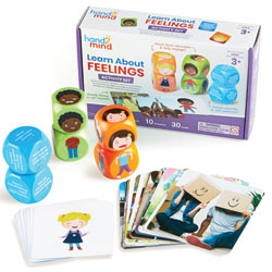 Learn About Feelings Activity Set - by Hand2Mind