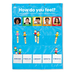 Express Your Feelings Pocket Chart - by Hand2Mind
