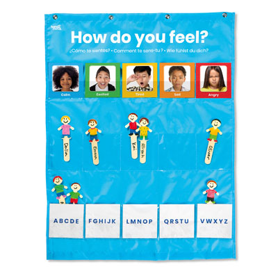 Express Your Feelings Pocket Chart - by Hand2Mind - H2M93385