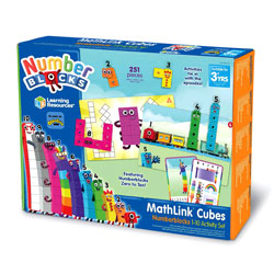 MathLink Cubes Numberblocks 1-10 Activity Set - by Learning Resources