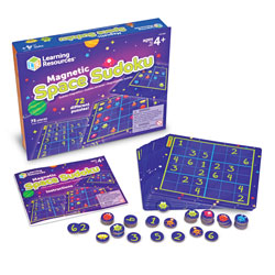 Magnetic Space Sudoku - by Learning Resources