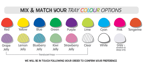 Tray Colours