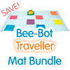 TTS Bee-Bot Mats - Traveller Bundle (2 Large Mats)