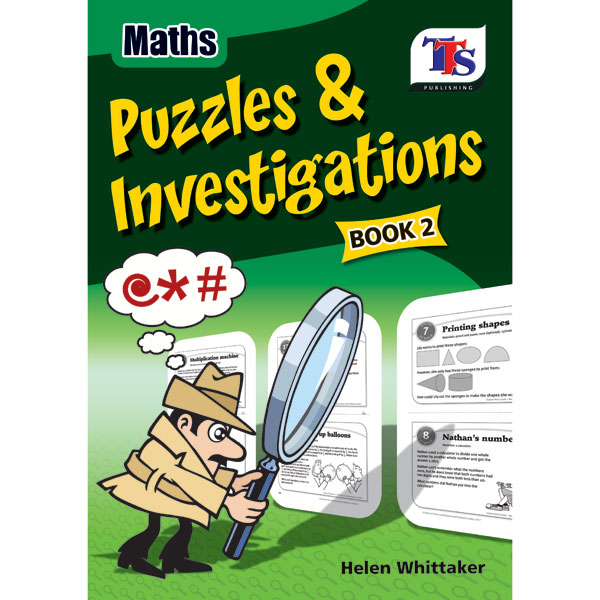 Maths Puzzles and Investigations - Book 2 (Large Picture) for Schools by Primary ICT